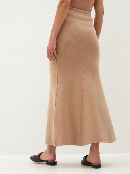 Трикотажная юбка - фото 9
