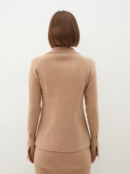 Трикотажная блузка - фото 11