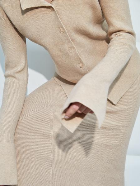Трикотажная блузка - фото 3