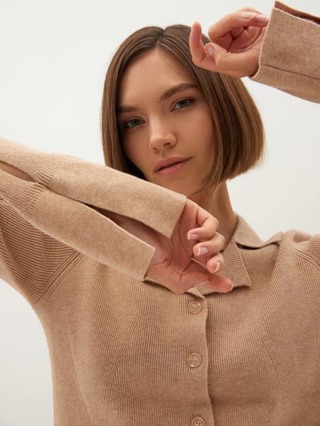 Трикотажная блузка - фото 7