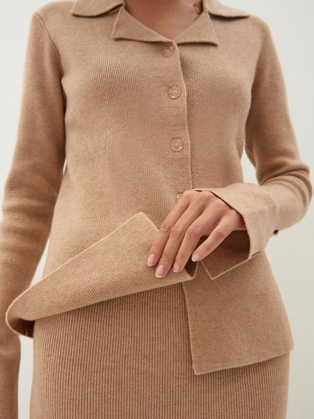 Трикотажная блузка - фото 9