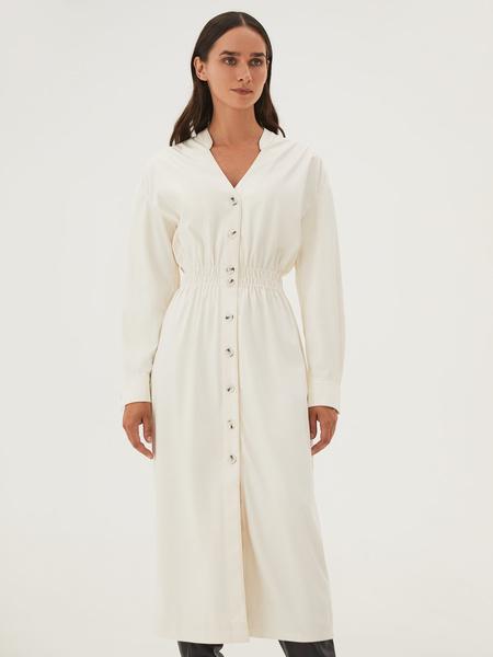 Платье из экокожи - фото 12