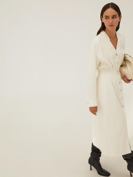 Платье из экокожи - фото 9