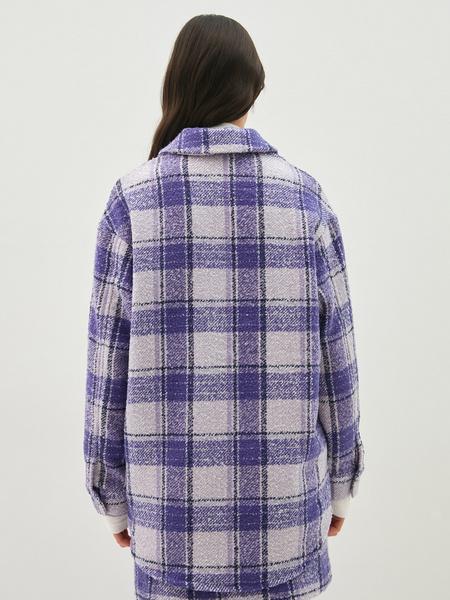 Твидовая рубашка - фото 8