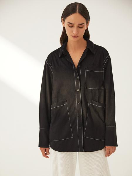 Блузка с карманами - фото 12