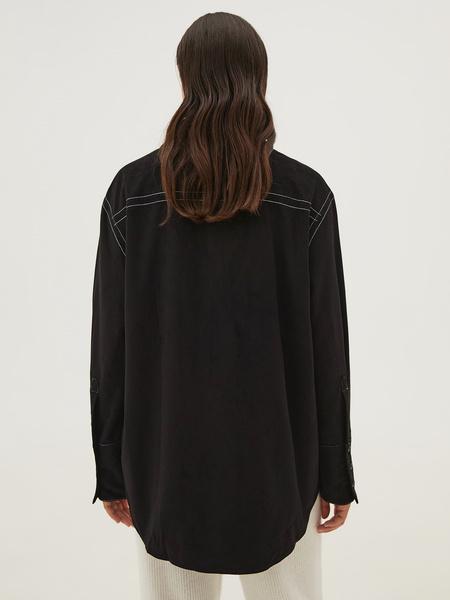 Блузка с карманами - фото 14