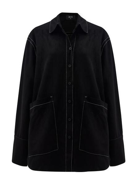 Блузка с карманами - фото 15
