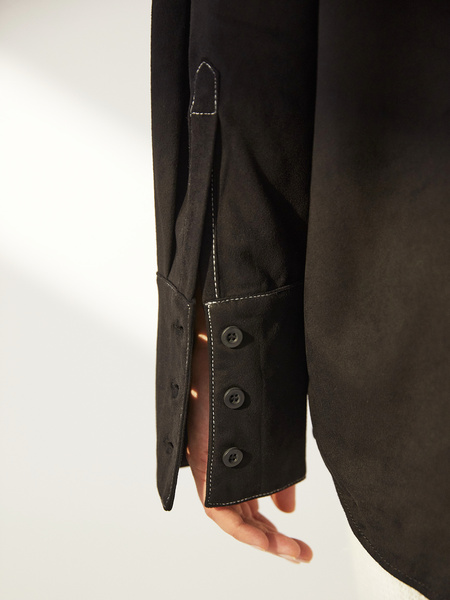 Блузка с карманами - фото 9