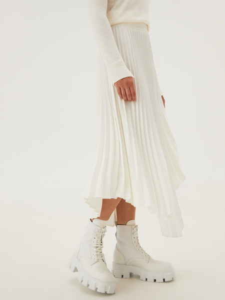Плиссированная юбка - фото 8