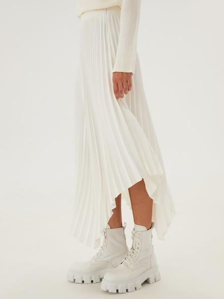 Плиссированная юбка - фото 9