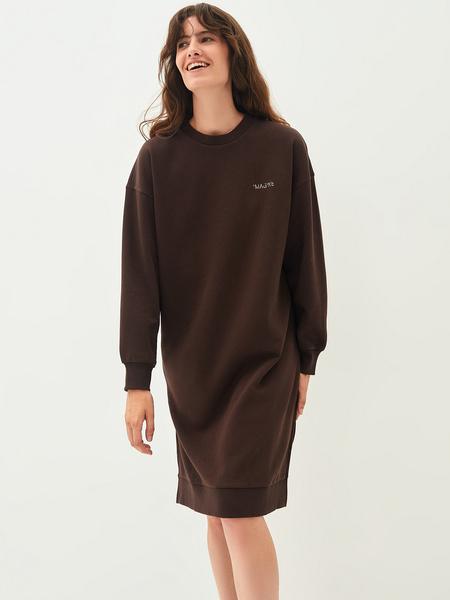 Платье-свитшот - фото 1