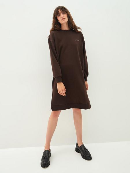 Платье-свитшот - фото 2