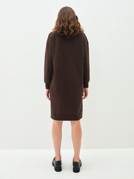 Платье-свитшот - фото 8