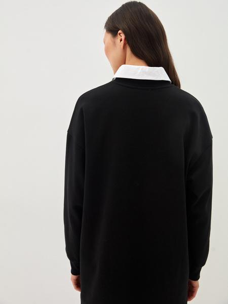 Платье-свитшот - фото 11