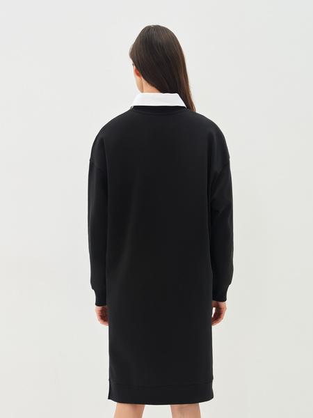 Платье-свитшот - фото 12