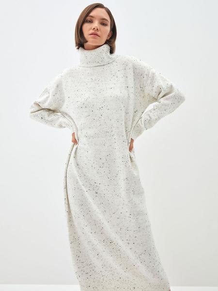 Платье-свитер - фото 1