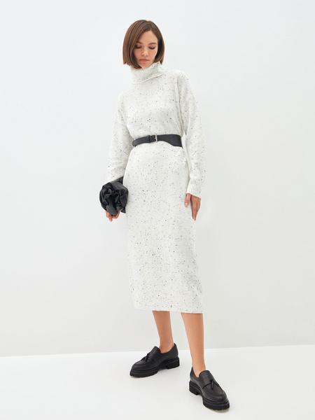 Платье-свитер - фото 3