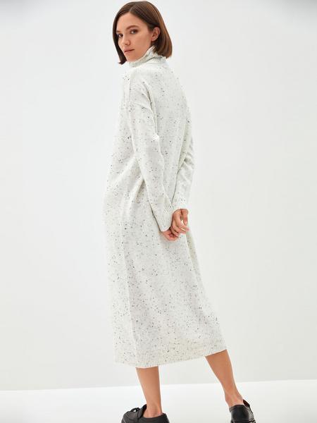 Платье-свитер - фото 9