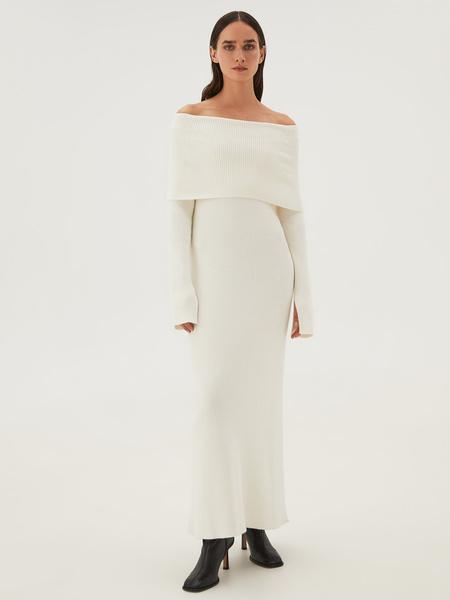 Платье из вискозы - фото 17