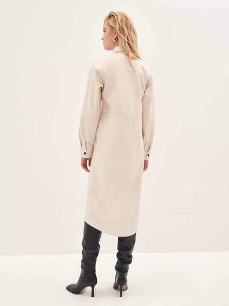Платье из экокожи - фото 10