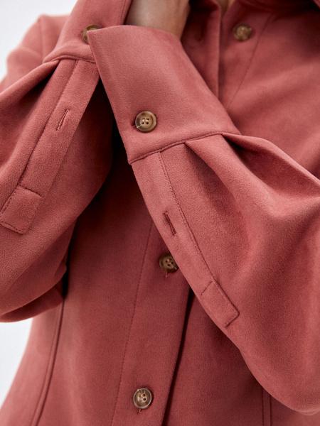 Блузка из экозамши - фото 5