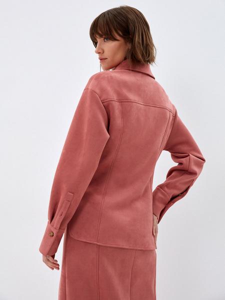 Блузка из экозамши - фото 6