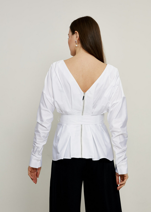 Блузка с длинным рукавом 5