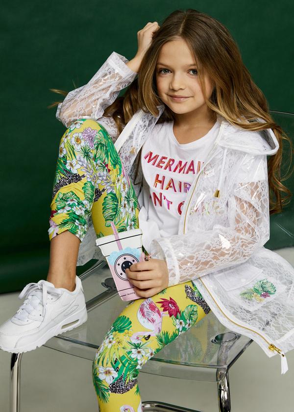 Купить Накидка (дождевик) для девочек, Zarina, Китай