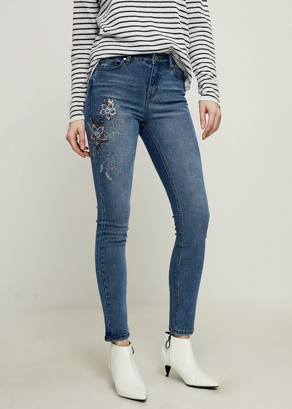 Брюки джинсовые - фото 3