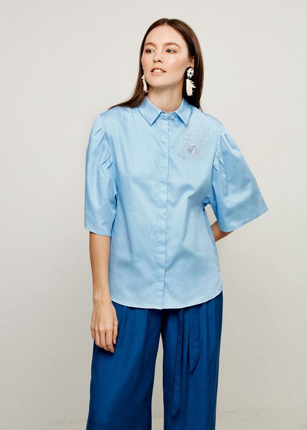 Фото - Женскую блузку