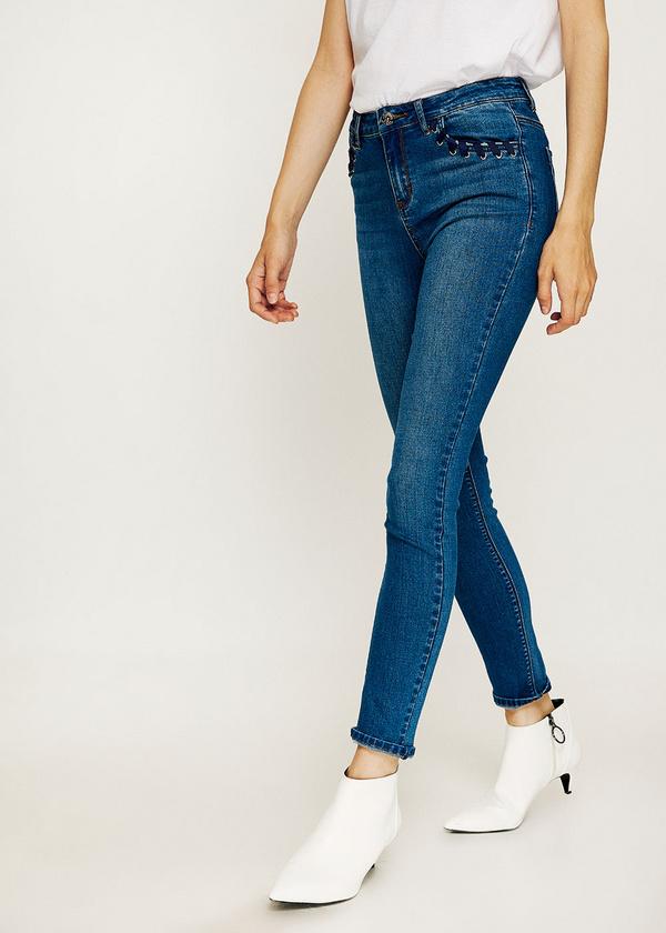 Брюки джинсовые - фото 4