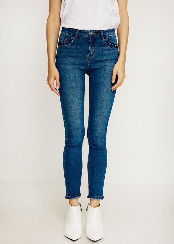 Брюки джинсовые - фото 5