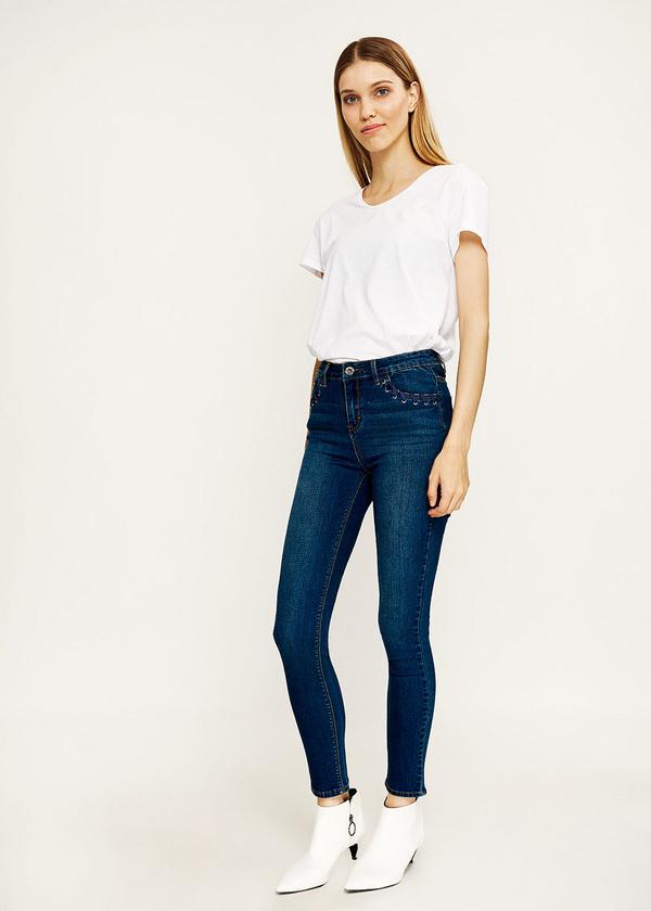 Брюки джинсовые - фото 2