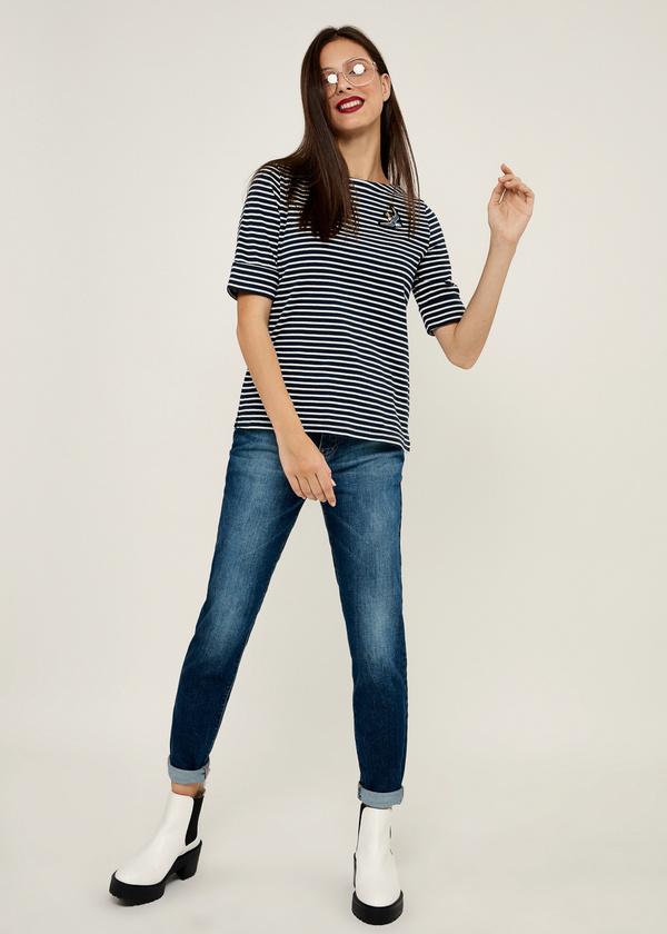 Брюки джинсовые - фото 1