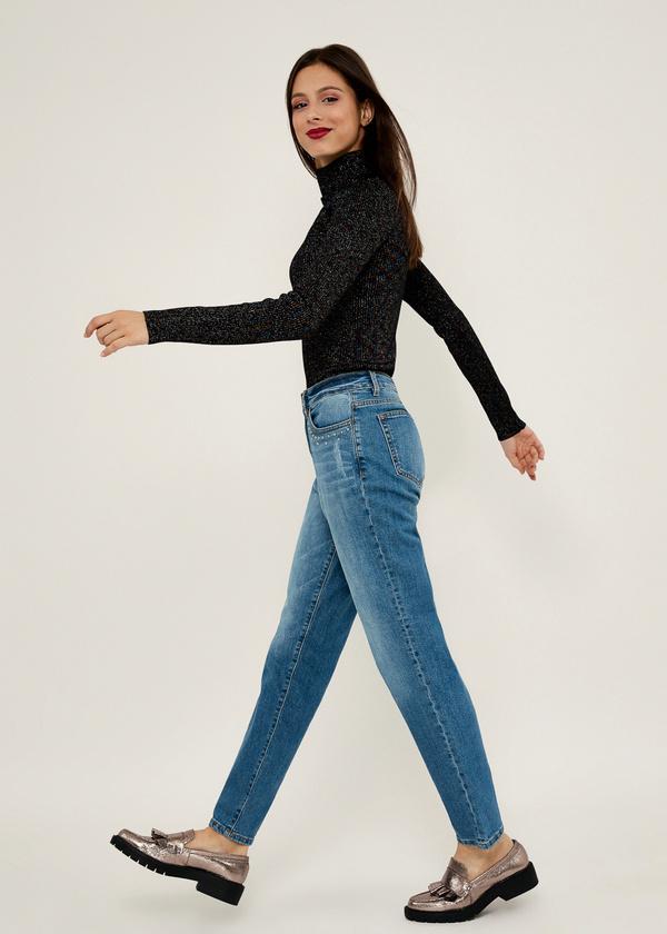 Прямые джинсы из хлопка - фото 2