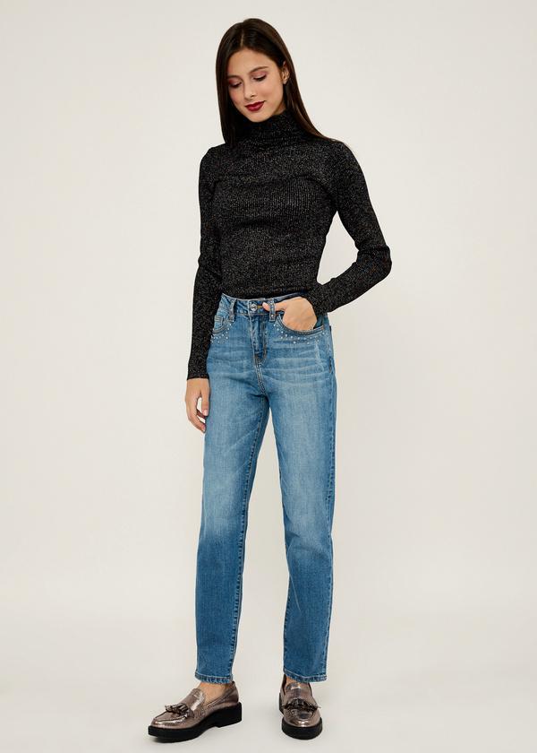 Прямые джинсы из хлопка - фото 6