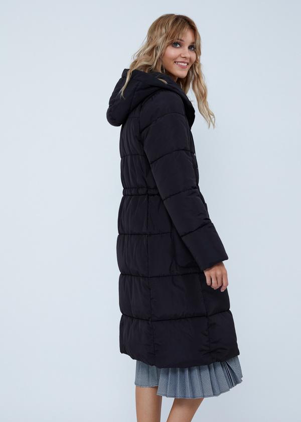 Удлиненная куртка с капюшоном - фото 6