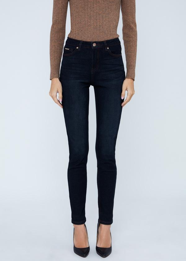 Зауженные джинсы с завышенной талией - фото 2