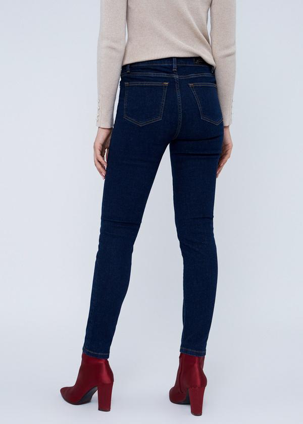 Зауженные джинсы с клепками - фото 5