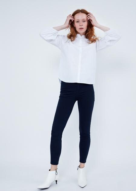 Хлопковые джинсы skinny - фото 2