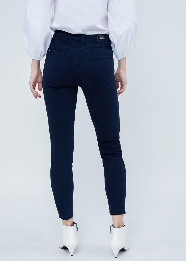 Хлопковые джинсы skinny - фото 3