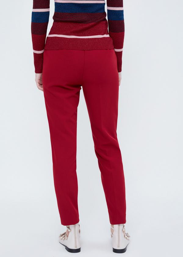 Зауженные брюки с разрезами - фото 4