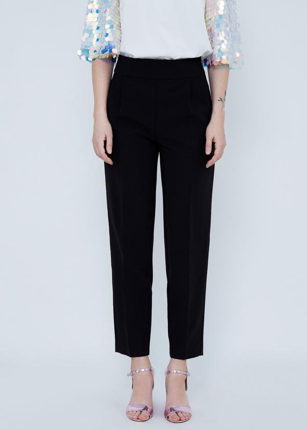 Укороченные брюки с карманами - фото 2