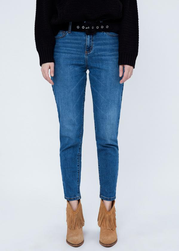 Укороченные джинсы  - фото 1