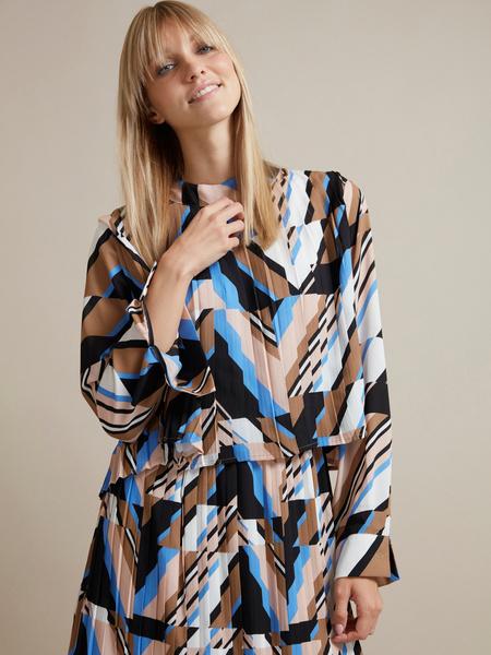 Миди-платье с плиссировкой - фото 2