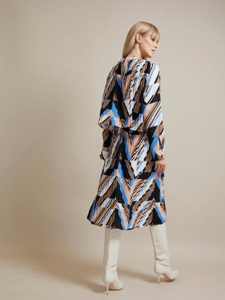 Миди-платье с плиссировкой - фото 4