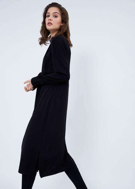 Платье-миди свободного кроя - фото 4