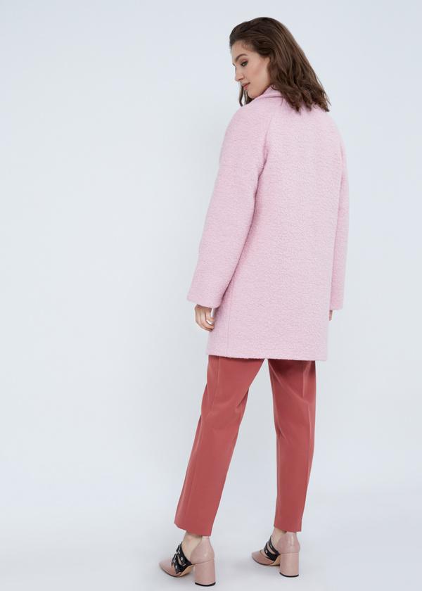 Двубортное пальто-оверсайз из букле - фото 6