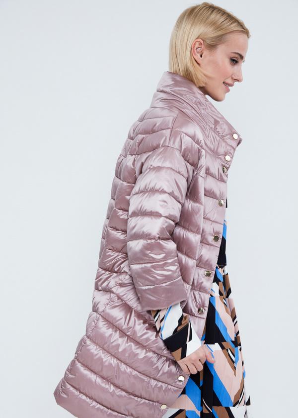 Пальто с воротником-стойкой  - фото 2