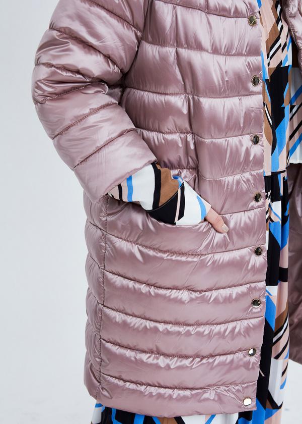 Пальто с воротником-стойкой  - фото 3